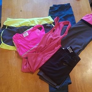606e49b438c4fa several Pants | Bundle Of Work Out Clothes | Poshmark